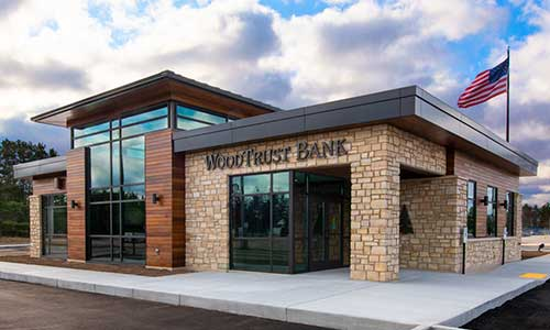 Griffith WoodTrust Bank Branch